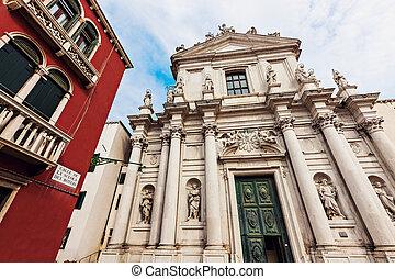 Santa Maria Assunta detta I Gesuiti in Venice. Venice,...