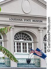 博物館, フランス語, 四分の一, 州,  orleans, 新しい, ルイジアナ