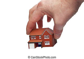 Picking up a house
