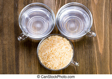 steamed rice - a recipe - The recipe for steamed rice One...