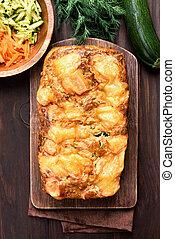 蔬菜, 胡蘿卜,  zucchini,  bread