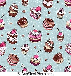 Seamless Yummy pattern