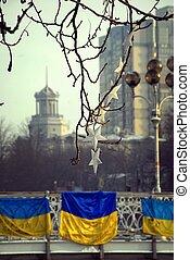 Revolution in Kiev.