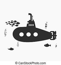 Submarino, periscopio