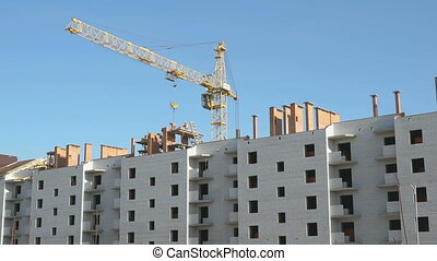 Construction of an apartment residential complex - The...