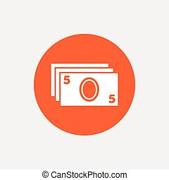 Cash sign icon Paper money symbol For cash machines or ATM...