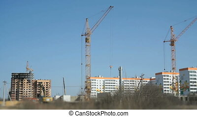 Construction of a residential apartment complex - The...