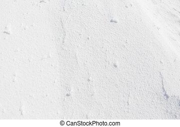 White snow texture.