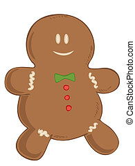 Gingerbread man.
