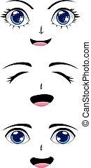 Cute Stylized Faces