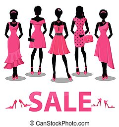 Black friday Sale.Pink party dresses,accessories