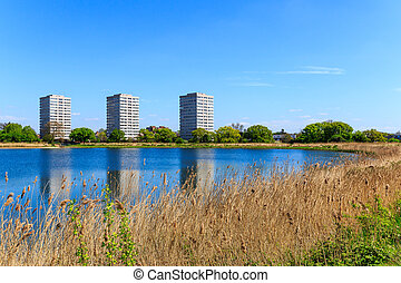 Woodberry Wetland in London - Newly-opened Woodberry...