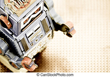 toys - retro robot toy
