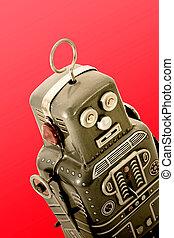 robots - retro robot toy