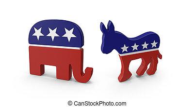 elections - democrats vs republicans