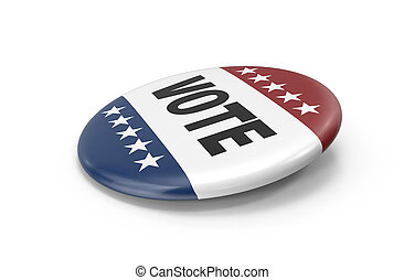 elections vote button