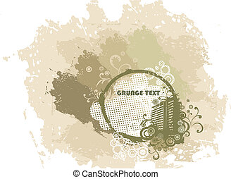 Grunge vector urban background