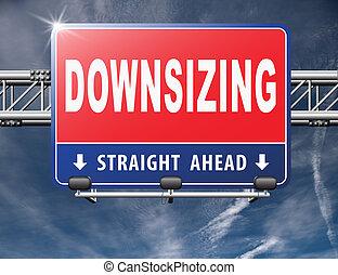 Downsizing firing workers jobs cuts job loss reorganization...