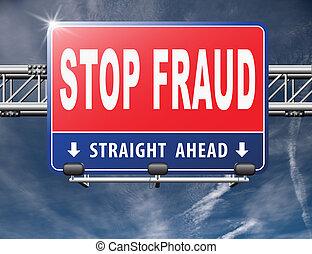 stop fraud bribe