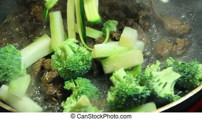 beef and broccoli stir fry - korean beef and broccoli with...