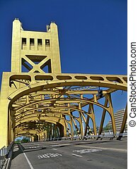golden bridge - this still golden bridge is located over the...
