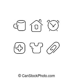 Home set icons