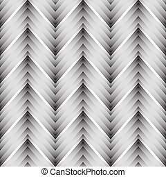 Vector seamless chevron pattern Zigzag background in black...