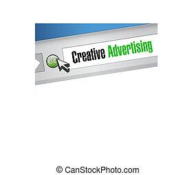creative advertising web browser sign illustration concept...