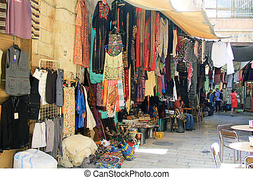 Outdoor Shop in the Christian Quart - Colorful outdoor shop...