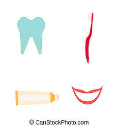 Dentist instruments set