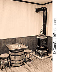 Old time Country Store. - Old time country store room with...