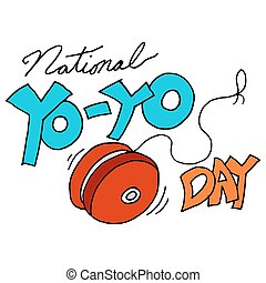 National yoyo day - An image of a national yoyo day
