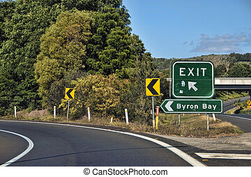 Byron Bay, Australia - Byron Bay in the Gold Coast,...