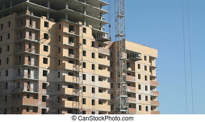 Construction of an apartment residential building - The...