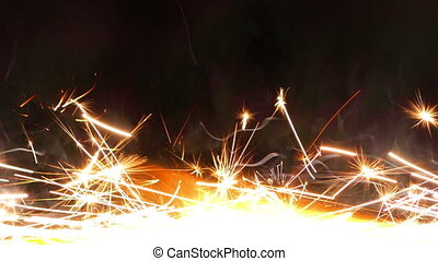 Sparks from Firework