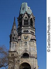 Kaiser Wilhelm Gedaechtniskirche/ Church, Berlin - Kaiser...