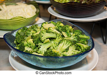 Plate of Broccoli Salad