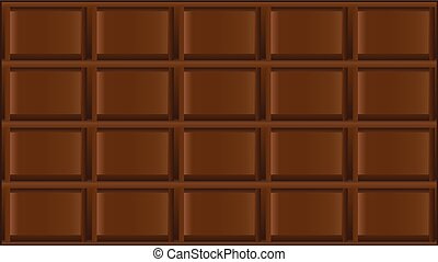 Chocolate bar - The classic dark chocolate, the standard...