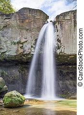 Williamsport Falls Plunge - Indianas Williamsport Falls...