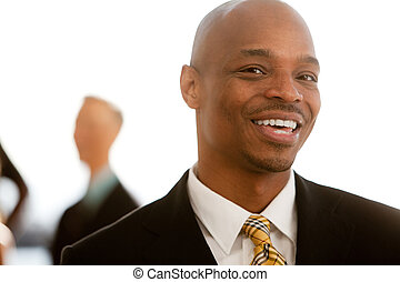 African American Business Portrait - An african american...