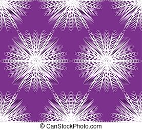 Continuous vector pattern with graphic lines, decorative...