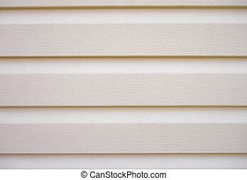 Background of a covering of walls - a siding. - The...
