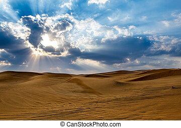 Desert in Dubai, United Arab Emirates