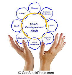 diagram of Child's Developmental Needs