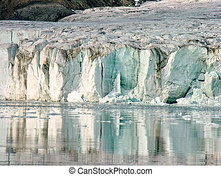 Glaciar Cruise in Svalbard - Icy Glaciar Cruise in Svalbard,...