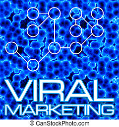 Viral Marketing Diagram - An illustration or diagram...