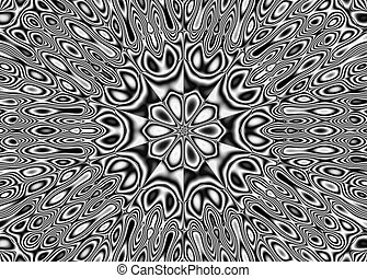 Abstract pattern - kaleidoscopic pattern - Image of the...
