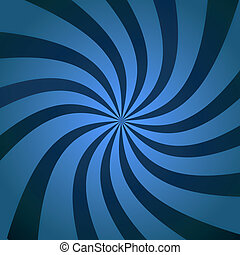 Blue sky Burst Twist - Abstract blue background illustration...