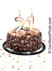 Twenty first birthday or anniversary