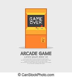 Arcade Machine - Arcade Machine Vector Illustration